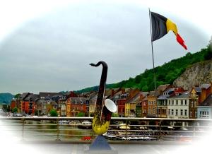 Sax Sculpture, Dinant, Belgium