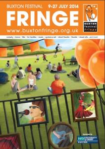 Buxton Festival Fringe Programme Cover